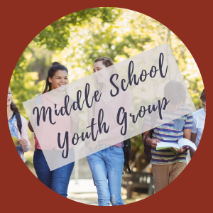 Youth Ministry for Middle School Students Begin Oct. 6th