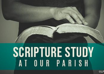 New Bible Study Begins Monday, April 12