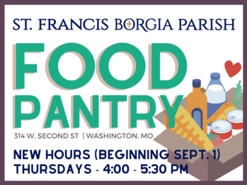 New Hours for Food Pantry