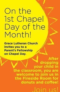 Chapel and Coffee **March 6 and 7**