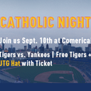Catholic Night at Comerica Park