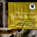 Wine and Dine Social Sat. May 25 2-4pm
