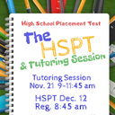 HSPT Prep/Tutoring Class NOVEMBER 20, 2020. 9-11:45 AM
