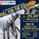 """Pull for the Kids"" Clay Shooting Tournament Fundraiser - Thursday, Dec. 10, 2020"