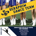 Congratulations to our 2020-2021 Seraphim Dance Team!