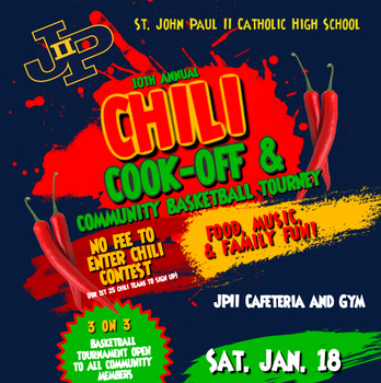 Save the Date-Chili Cookoff and 3 on 3 Bball Tournament JAN. 18TH