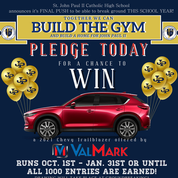 PLEDGE/DONATE TO THE GYM HERE!