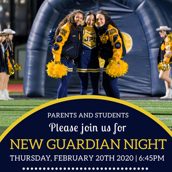 New Guardian Night THURS. FEB. 20, 2020