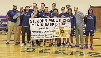 John Paul II boys capture district championship