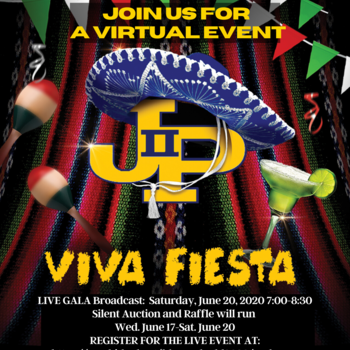 """VIRTUAL 2020 Blue and Gold Dinner """"VIVA FIESTA"""" JUNE 20th at 7:00pm"""