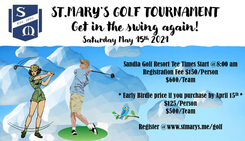 St. Mary's 2021 Golf Tournament