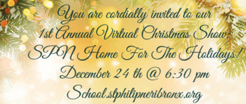 1st Virtual Christmas Show