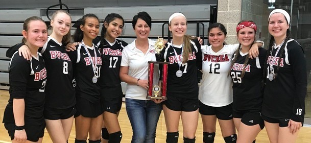 BVCHEA Varsity Volleyball 2018 TAIAO Division 1 State Champions!