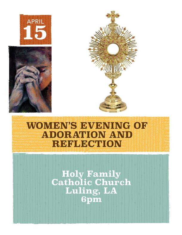 Women's Evening of Reflection - Thursday, April 15
