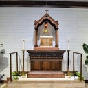 Spring Planting and Tabernacle Baldacchino