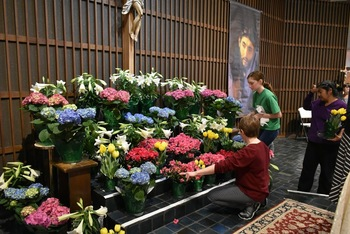 Easter Preparation 2018 at the Shrine of St. Jude