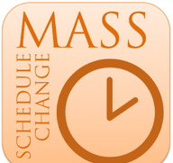 Mass Schedule Change Effective Jan. 10, 2021