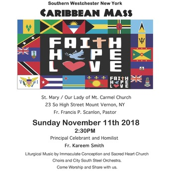 Southern Westchester, NY - Caribbean Mass