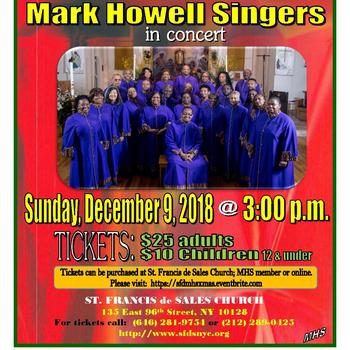 Mark Howell Singers in Concert