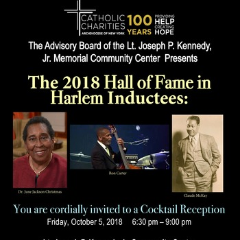 Catholic Charities Kennedy Center - 2018 Hall of Fame in Harlem Inductees