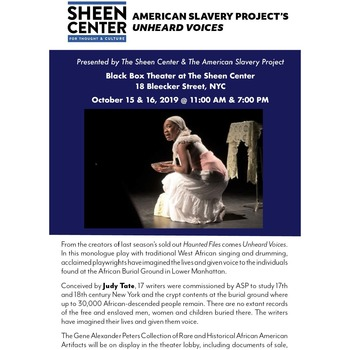 American Slavery Project's Unheard Voices