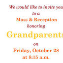 AN INVITATION TO OUR GRANDPARENTS!