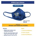 Show your School Spirit with our new Spirit Masks!