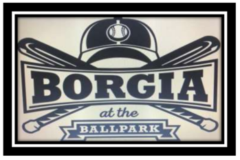 "Order Your ""Borgia at the Ballpark"" T-shirts Today!"