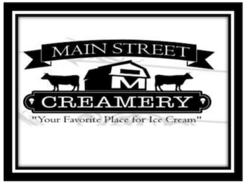 Dine to Donate at Main Street Creamery - AUG 17