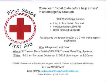 First Steps First Aid