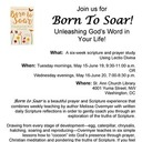 Born To Soar: Morning Session