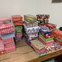 Youth Wrap More Than 55 Shoeboxes for those at Friendship Place Transitioning out of Homelessness!
