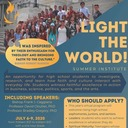 Youth: Light the World! Summer Institute