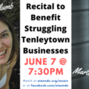 Virtual Recital at St. Ann to Benefit Tenleytown Small Businesses