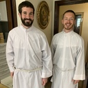 Congrats to Our 2 New SJS Transitional Deacons! Click to Watch Mass