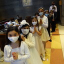 10 Students Receive First Holy Communion