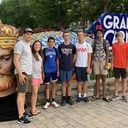 St. Ann Teens Attend Diocesan Kings Dominion Day!