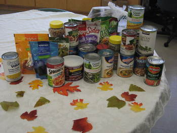 St. Ann Scouting for Food Drive