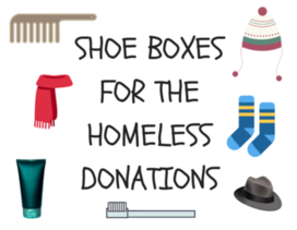 Youth: Fill Shoe Boxes for the Homeless