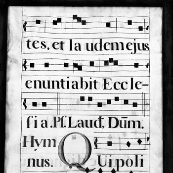 English Language Gregorian Chant Workshop & 6pm Mass