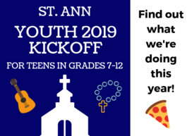 Youth: 2019 Kickoff!