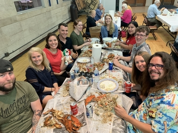 175 Attend Crab Feast!