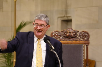 George Weigel Lecture at St. Ann on the History and Theology of a Catholic Parish