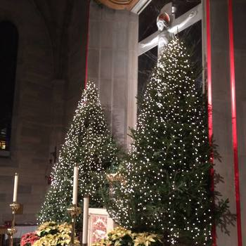 Happy New Year! Here's Our Coverage of Christmas and New Year's at St. Ann!