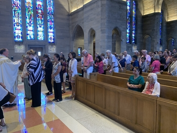 First Friday Healing Mass with St. Ann's Relic followed by Holy Hour