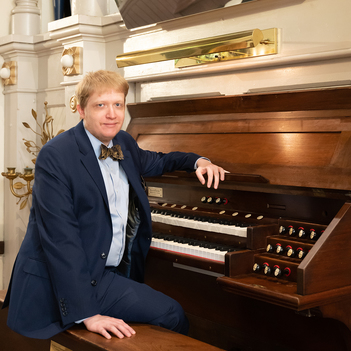 Live Organ Recital with Local Artist Jay Parrotta, American Guild of Organists Fellow