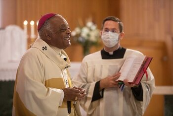 Cardinal-designate Gregory offers special message as he departs for Consistory