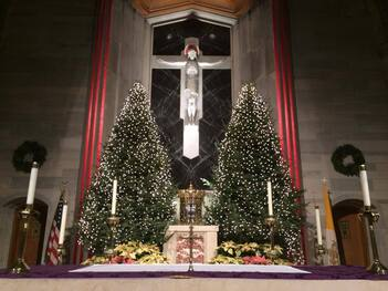 Christmas and New Year's Mass Schedule 2020-2021