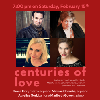 Centuries of Love Concert with Cantor Grace Gori & Artists