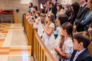 Pray for Our First Communicants